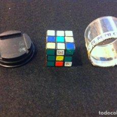 Juguetes antiguos y Juegos de colección: CUBO RUBIK (EL MINI CUBO DEL MUNDIAL 82) MEDIDAS: 3 X 3CM. FÚTBOL. Lote 121185607