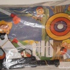 Juguetes antiguos y Juegos de colección: PISTOLA DE VENTOSAS EN PLASTICO DURO , BERNABEU GISBERT , JUGUETE Nº 150( MADE IN SPAIN ) AÑOS 70/80. Lote 121874539