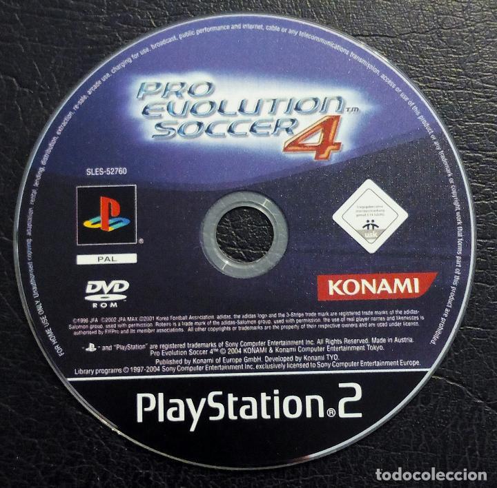DVD PLAYSTATION 2 - PRO EVOLUTION SOCCER 4