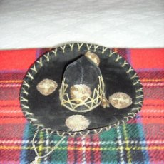 Juguetes antiguos y Juegos de colección: ANTIGUO SOMBRERO MEXICANO PARA MUÑECA/O. Lote 124544063