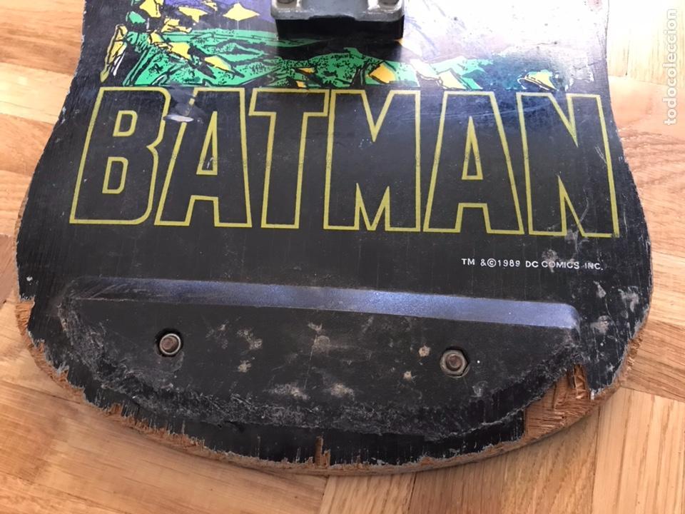 Juguetes antiguos y Juegos de colección: Skateboard antiguo monopatin Batman Dc Comics 1989 Similar a santa cruz powel peralta Zorlac - Foto 2 - 126396800