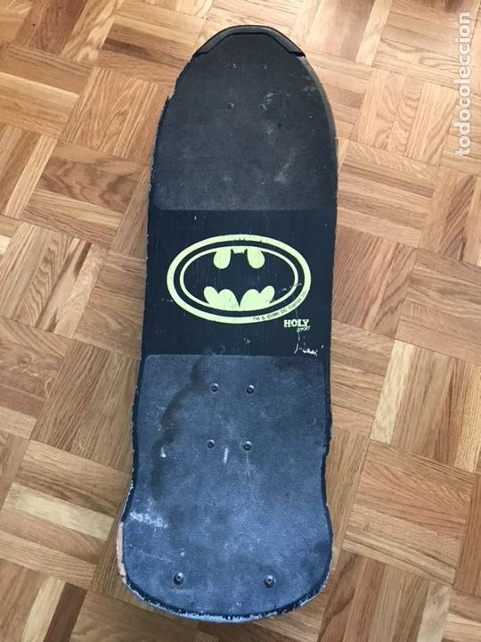 Juguetes antiguos y Juegos de colección: Skateboard antiguo monopatin Batman Dc Comics 1989 Similar a santa cruz powel peralta Zorlac - Foto 6 - 126396800