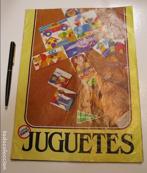 Catalogo Corte ingles Juguetes 1982 nancy airgam boys playmobil Paya Comansi Madelman Tente Ibertren segunda mano