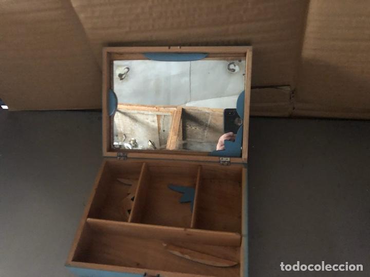 Juguetes antiguos y Juegos de colección: Joyero de madera 1930 - Foto 2 - 126916836