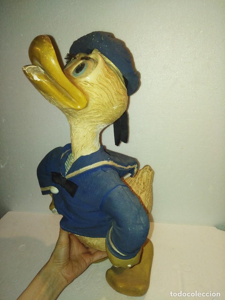 Juguetes antiguos y Juegos de colección: Espectacular gran figura antigua de escaparate Pato Donald, Disney - Foto 2 - 127978695