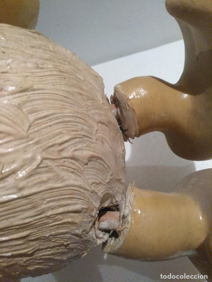 Juguetes antiguos y Juegos de colección: Espectacular gran figura antigua de escaparate Pato Donald, Disney - Foto 17 - 127978695