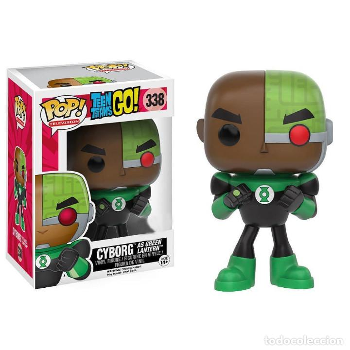 Teen Titans Go Cyborg As Green Lantern Comprar En