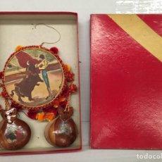 Juguetes antiguos y Juegos de colección: JUGUETE SET NACIONAL PANDERETA Y CASTAÑUELAS AÑOS 60. Lote 128720547