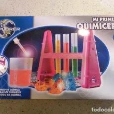 Juguetes antiguos y Juegos de colección: JUEGO MI PRIMERA QUIMICEFA. Lote 128823579