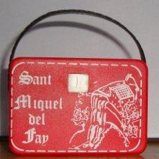 Juguetes antiguos y Juegos de colección: (TC-124) VISOR TELEVISON DIAPOSITIVAS SANT MIQUEL DE FAY. Lote 128871095