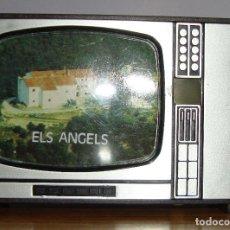 Juguetes antiguos y Juegos de colección: (TC-124) VISOR TELEVISON DIAPOSITIVAS ELS ANGELS. Lote 128871539
