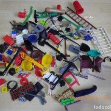 Juguetes antiguos y Juegos de colección: LOTE DESGUACE PIEZAS SUELTAS DE PLASTICO JUGUETES AÑOS 70 - 80 - 90 VARIAS MARCAS. Lote 128877883