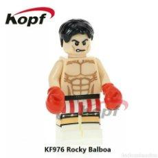 Giocattoli antichi e Giochi di collezione: ROCKY BALBOA CON DOBLE CARA COMPATIBLE. Lote 153162102