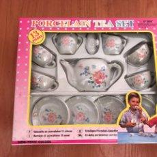 Juguetes antiguos y Juegos de colección: JUEGO DE PORCELANA PARA NIÑOS. Lote 131664414