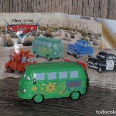 Juguetes antiguos y Juegos de colección: FIGURA HUEVO KINDER CARS COCHES JUGUETE . Lote 135323971