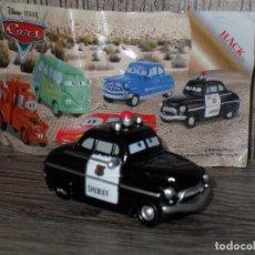 Juguetes antiguos y Juegos de colección: FIGURA HUEVO KINDER CARS COCHES JUGUETE . Lote 135323979
