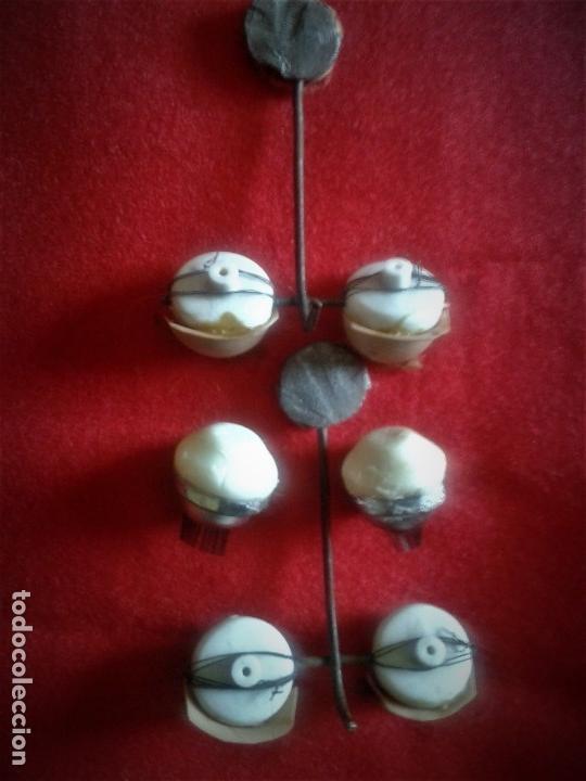 Juguetes antiguos y Juegos de colección: LOTE DE OJOS PARA MUÑECA GRANDE CON MECANISMO ,AÑOS 60 Y 70 - Foto 2 - 133334790
