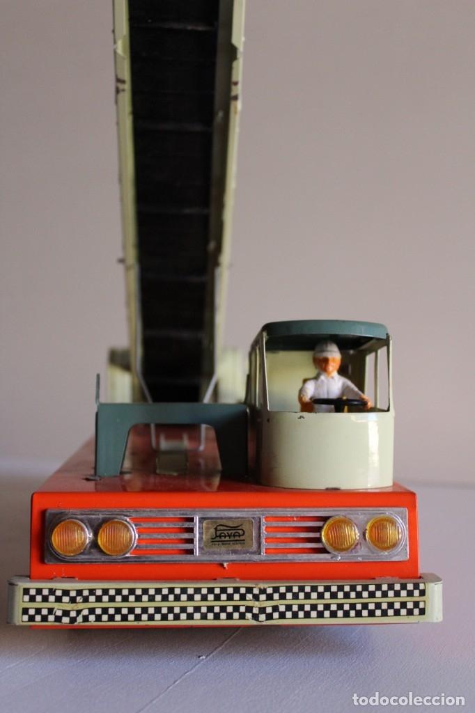 Juguetes antiguos y Juegos de colección: Antiguo camión juguete Hércules paya hojalata - Foto 6 - 117914456