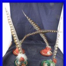 Juguetes antiguos y Juegos de colección: GORROS DE FIELTRO VIENESES DE GRUB AUS GRINZING. Lote 134971246