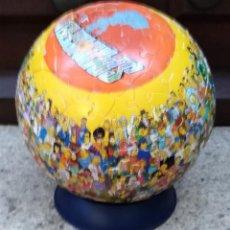 Juguetes antiguos y Juegos de colección: PUZZLE LOS SIMPSON GLOBO. Lote 135523942