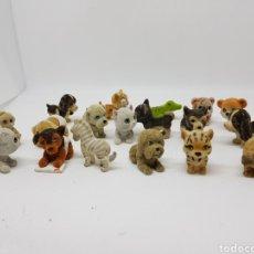 Juguetes antiguos y Juegos de colección: LOTE ANIMALES MINIATURA DE TERCIOPELO - CAR114. Lote 143929348