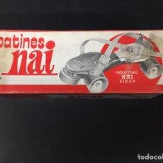 Juguetes antiguos y Juegos de colección: PATINES NAI. Lote 136191364