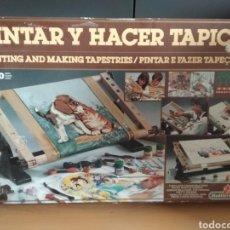 Juguetes antiguos y Juegos de colección: PINTAR Y HACER TAPICES (DE MEDITERRÁNEO SERIE NOVA). Lote 136547750