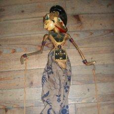 Juguetes antiguos y Juegos de colección: ANTIGUA MARIONETA-TITERE DE MADERA. Lote 137343782