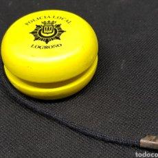 Juguetes antiguos y Juegos de colección: YO YO - POLICIA LOCAL DE LOGROÑO - CAR54. Lote 137682089
