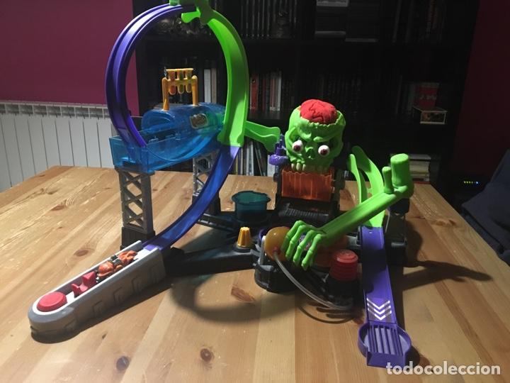 Pista Hot Wheels Halloween Calavera Del Terror Comprar En