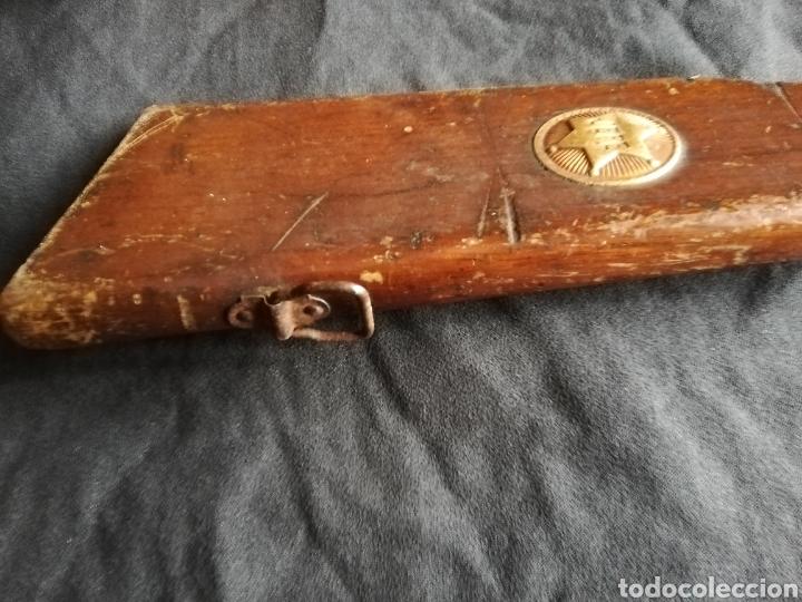 Juguetes antiguos y Juegos de colección: ANTIGUA ESCOPETA DE CORCHOS MODELO JEFE - Foto 12 - 133049822