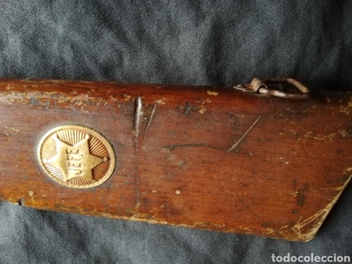 Juguetes antiguos y Juegos de colección: ANTIGUA ESCOPETA DE CORCHOS MODELO JEFE - Foto 13 - 133049822