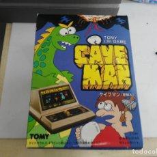Juguetes antiguos y Juegos de colección: ANTIGUA MAQUINITA TIPO GAME WATCH TABLETOP DE TOMY CAVE MAN. Lote 138109518