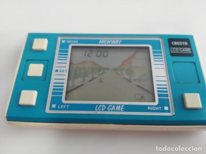 ANTIGUA GAME WATCH LCD HIGHWAY DE CRESTA (Juguetes - Varios)