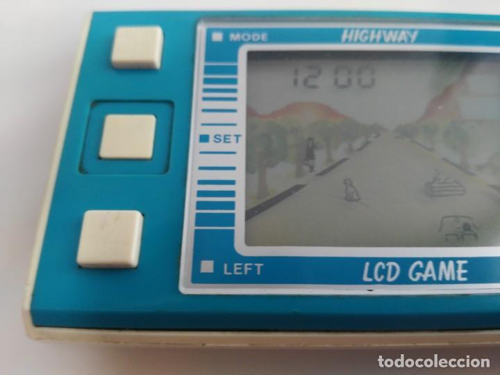 Juguetes antiguos y Juegos de colección: antigua game watch lcd highway de cresta - Foto 3 - 175763655
