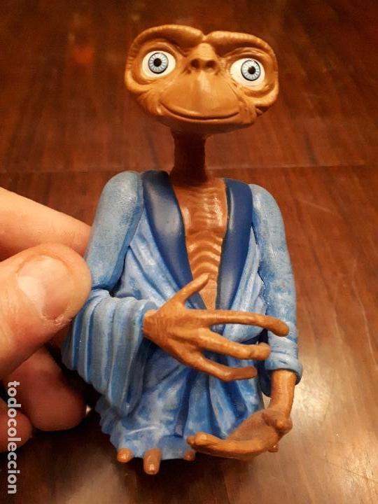 Juguetes antiguos y Juegos de colección: Figura ET Película El Extraterrestre. Cabeza articulada. - Foto 4 - 138800214
