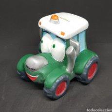 Juguetes antiguos y Juegos de colección: TRACTOR HUCHA - CAR124. Lote 138914193
