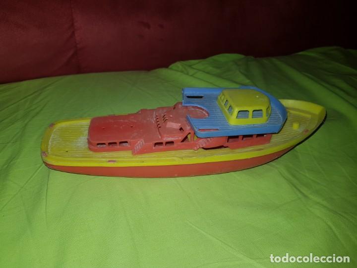 Juguetes antiguos y Juegos de colección: Antiguo yate de plástico made in germany.años 80 - Foto 2 - 139001226