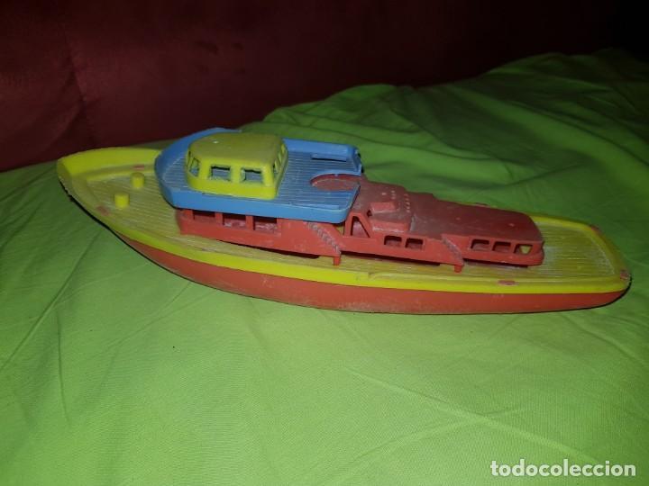Juguetes antiguos y Juegos de colección: Antiguo yate de plástico made in germany.años 80 - Foto 3 - 139001226