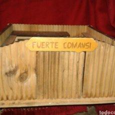 Juguetes antiguos y Juegos de colección: ANTIGUO FUERTE COMANSIS MADERA. Lote 139421970
