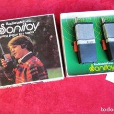 Juguetes antiguos y Juegos de colección: RADIOTELEFONO SONITOY - AYPE - NUEVO EN SU CAJA - RADIOCONTROL - FUNCIONANDO. Lote 139806242
