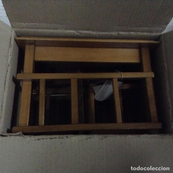 Juguetes antiguos y Juegos de colección: Mesa y 2 sillas madera para muñecas,MOULING ROTY - Foto 6 - 139883266