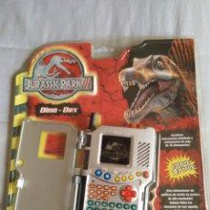 Juguetes antiguos y Juegos de colección: JURASSIC PARK TIGER ELECTRONICS DINO - DEX HASBRO 2001 EN BLISTER. Lote 139928238