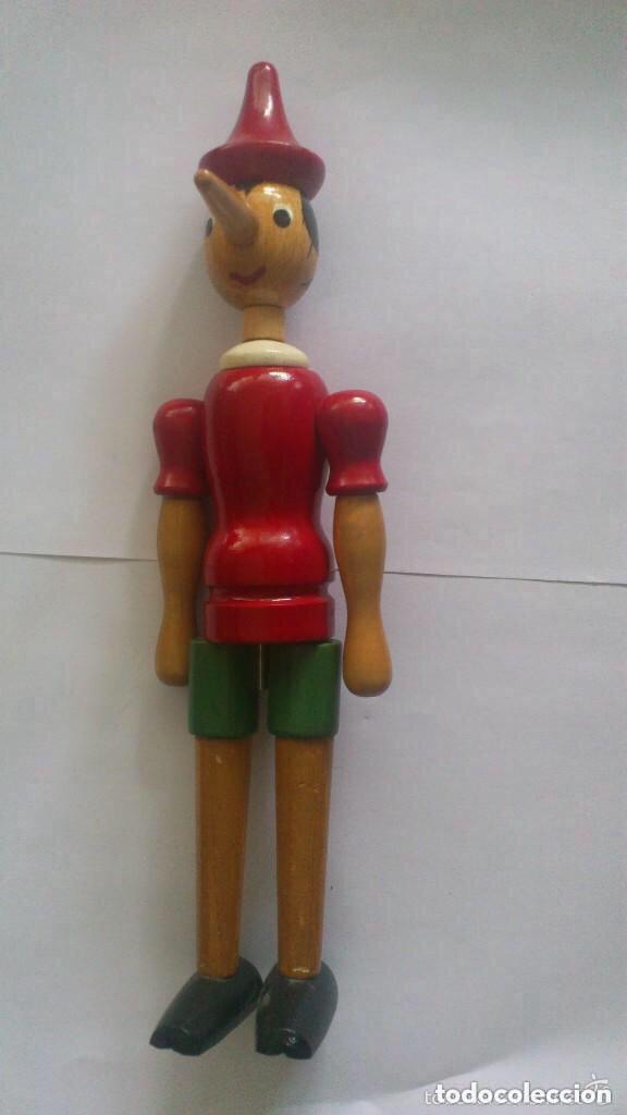 ArticuladoMedidas Madera De 31 Cm PinochoJuguete 3A4RL5jqc