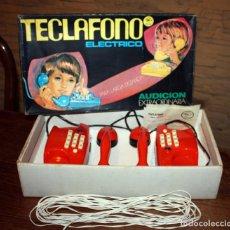 Juguetes antiguos y Juegos de colección: ANTIGUO TELEFONO TECLAFONO ELECTRICO DE RIMA - REF. 1075 - NUEVO Y EN SU CAJA ORIGINAL - AÑOS 70. Lote 140499806