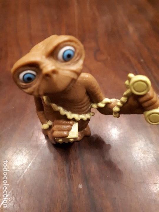 Juguetes antiguos y Juegos de colección: Muñeco Figura de ET. El Extraterrestre. Película Cine - Foto 2 - 140548758