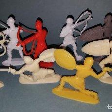 Juguetes antiguos y Juegos de colección: COMANSI GUERREROS MEDIEVALES. Lote 140923490