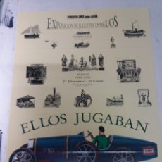 Juguetes antiguos y Juegos de colección: PAYA IBI ALICANTE.EXPOSICION MADRID 1990. Lote 141497065