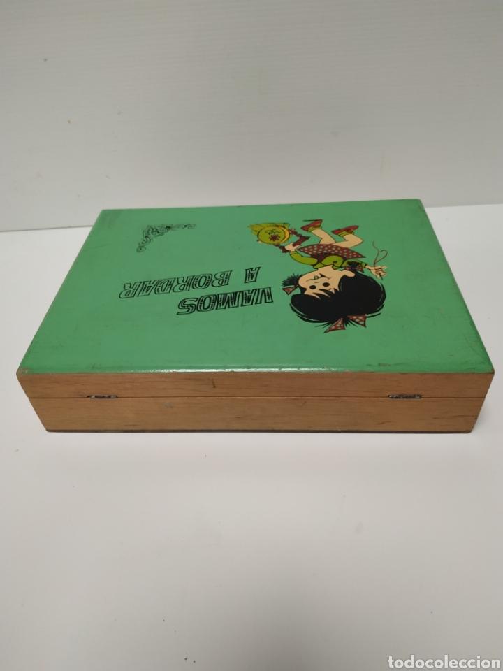 Juguetes antiguos y Juegos de colección: Costurero de madera infantil de la familia telerin - Foto 3 - 141715480