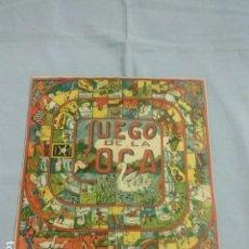 Juguetes antiguos y Juegos de colección: TABLERO JUEGO DE LA OCA Y PARCHIS. Lote 142029318